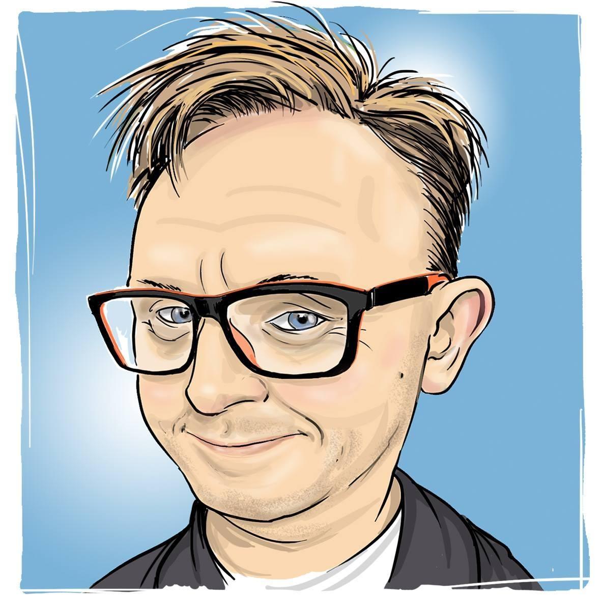 Mirosław Stankiewicz karykatura obraz digital painting stan mir studio