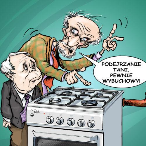 kaczynski i macierewicz gaz gazprom