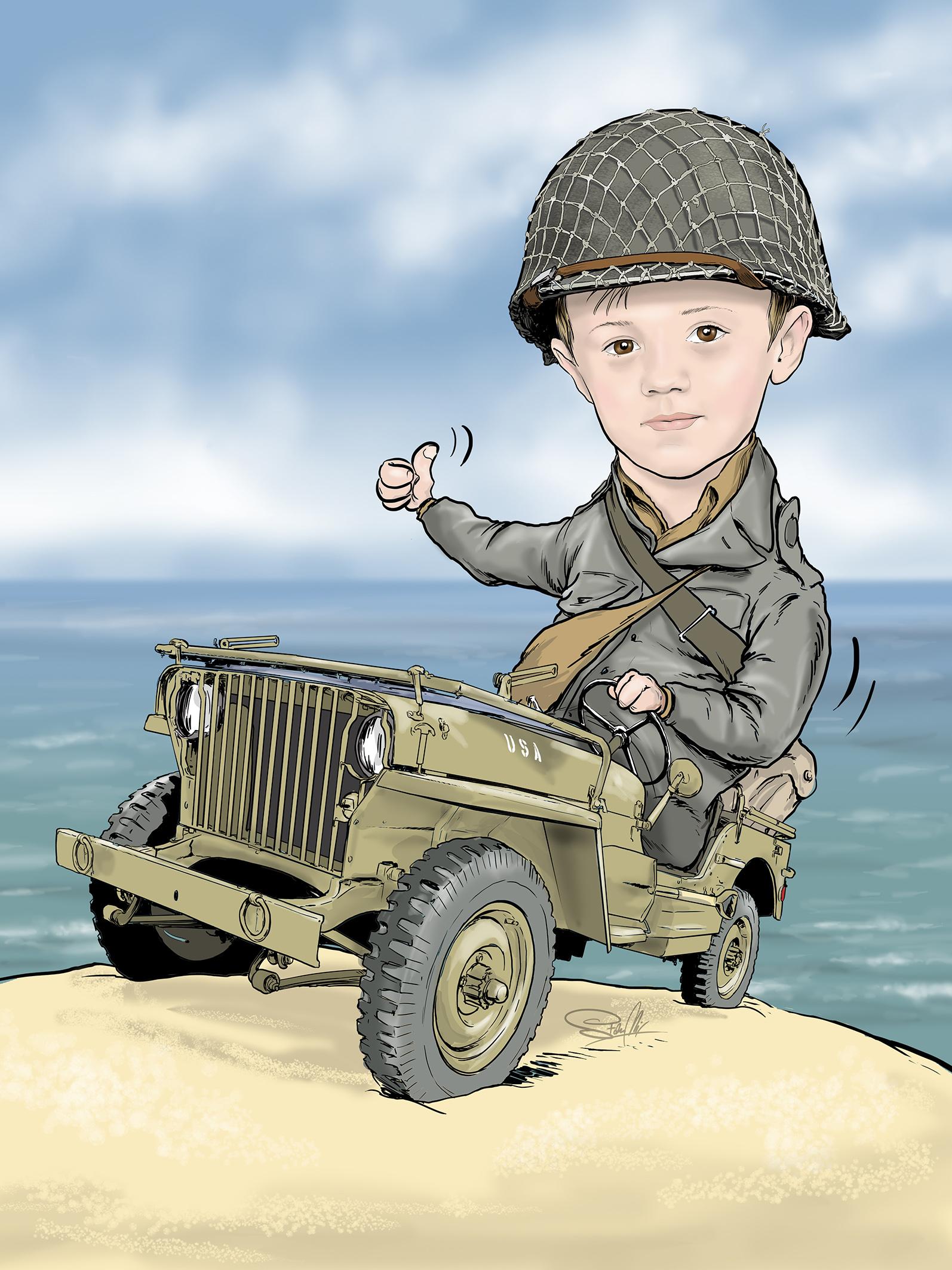 dziecko żołnierz ok