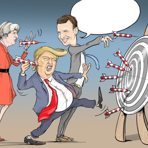 Karykatura polityczna – sposób na rozładowanie społecznych napięć