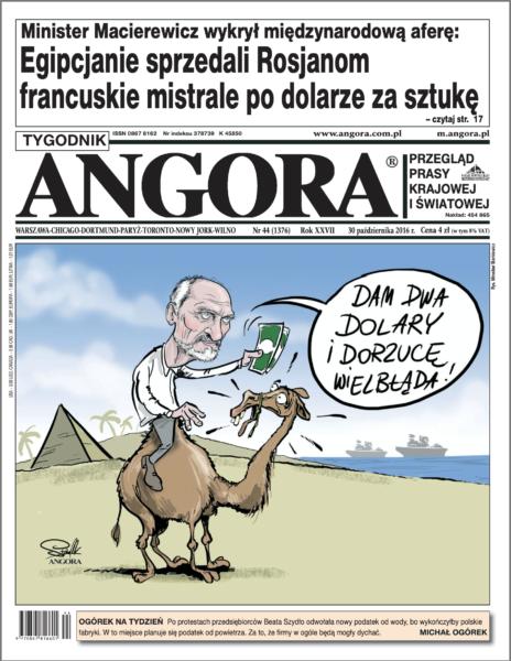 okładka angora macierewicz