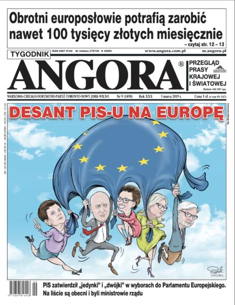 okładka angora Europa