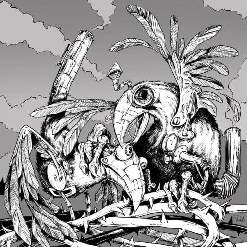 ilustracja ptak ptaki