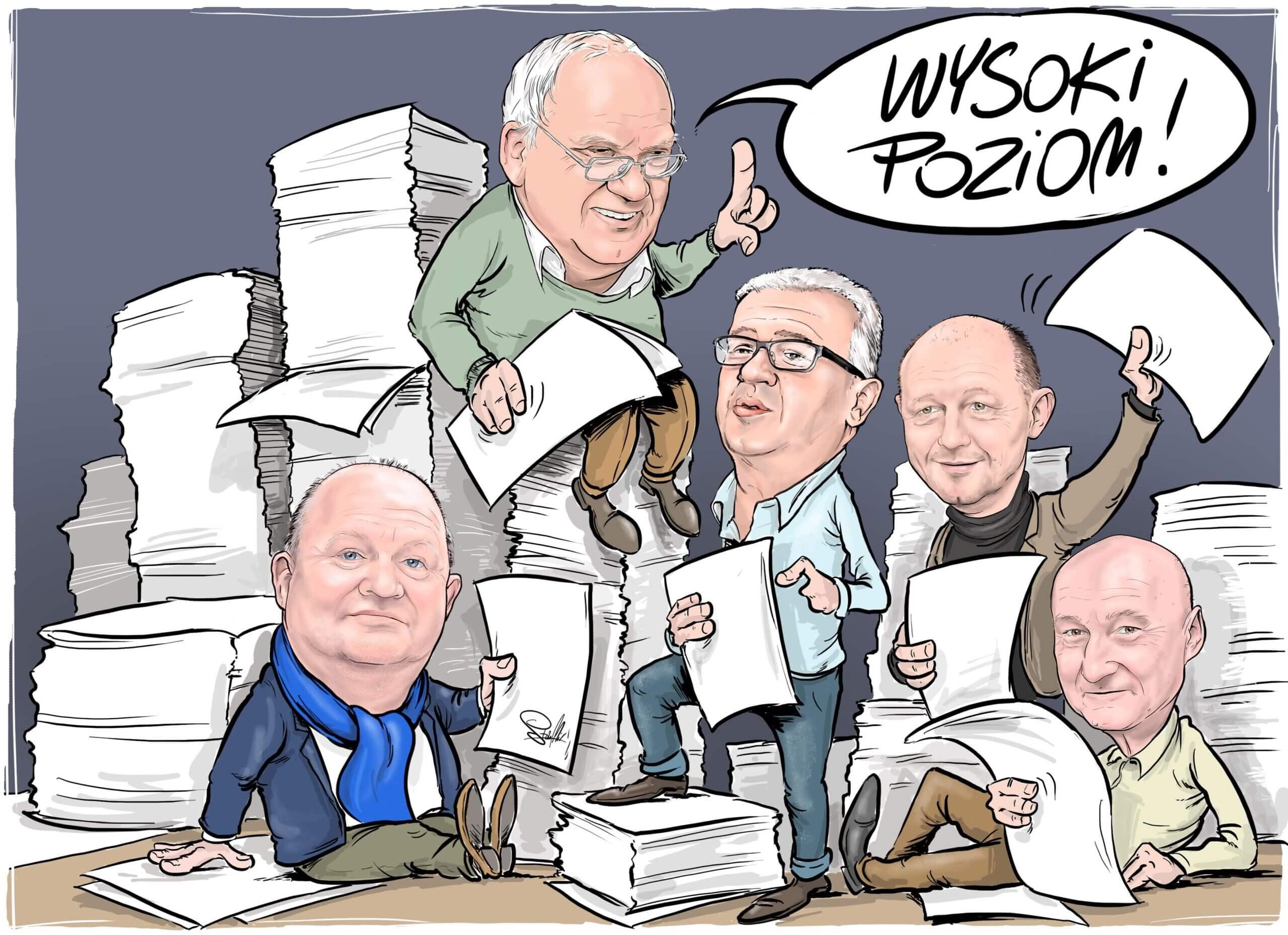 liczenie głosów wybory kartki